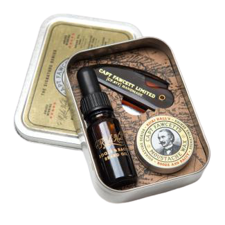 Captain Fawcett Grooming Survival Kit Booze  Baccy