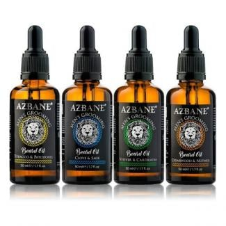 Azbane 30ml 4-pack baardolie
