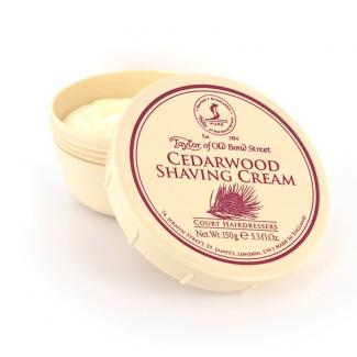 Taylor of Old Bond Street Cedarwood Shaving Cream
